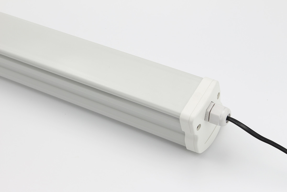 School corridor LED light,IP65 Weatherproof light 36w,natural White LED Slimline Batten Light
